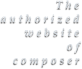 The  authorized website of composer